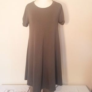 Forever 21 medium army green long top or dress
